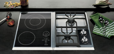 Wolf multi-function cooktop modules